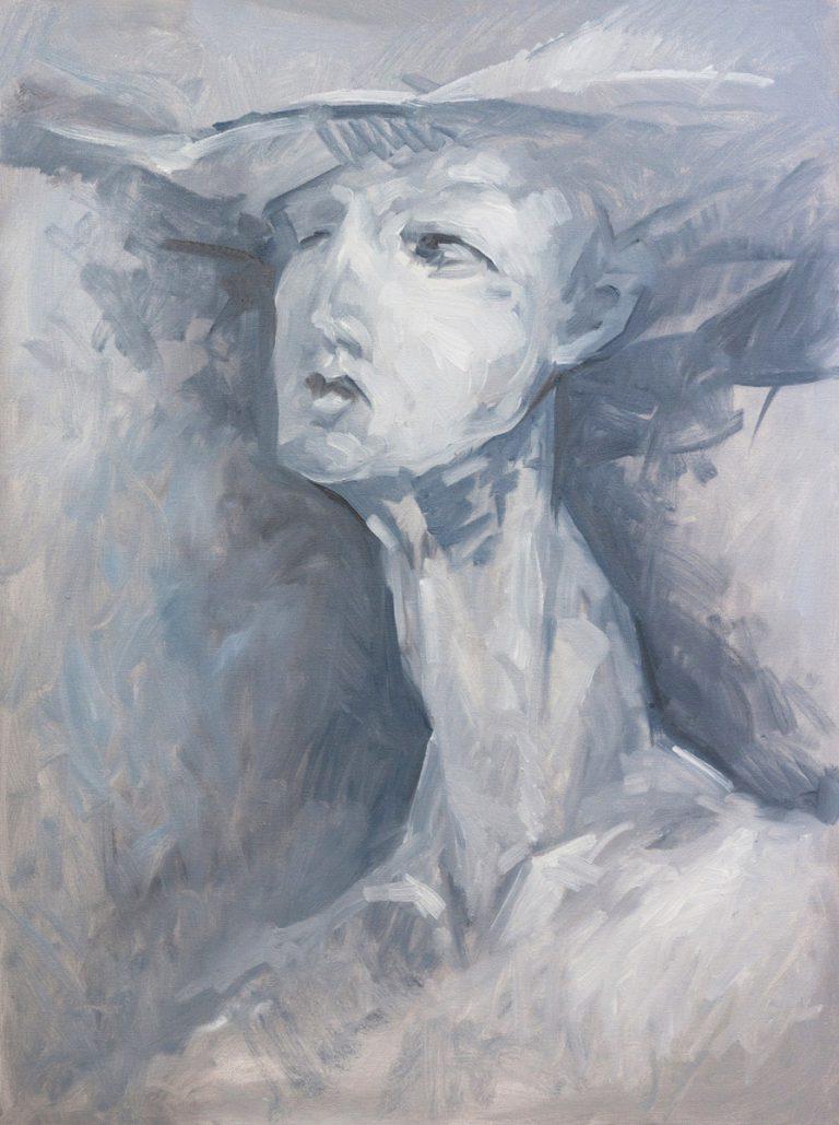 Porträt einer Dame