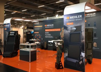 Messestand Mehler Engineered Defence GmbH