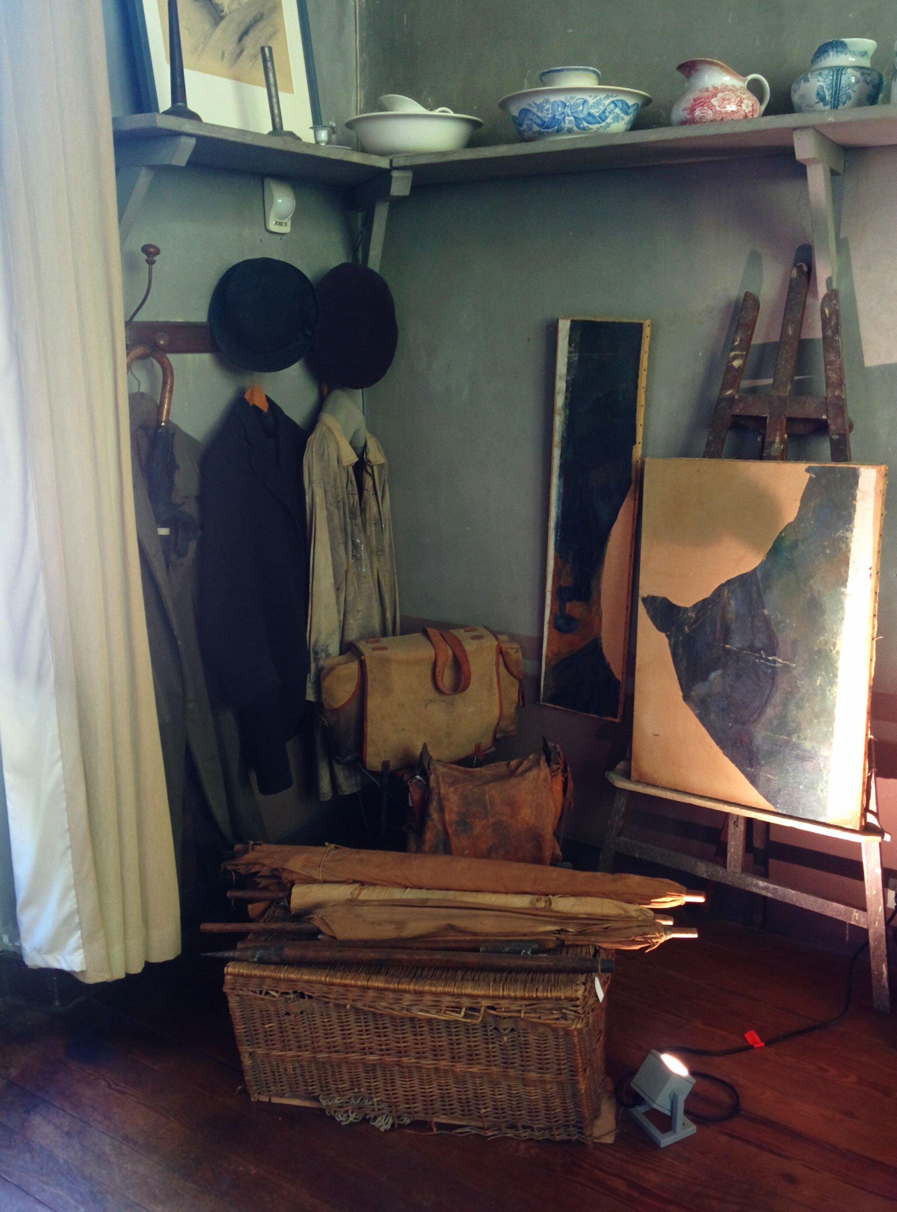 Das Atelier de Cézanne