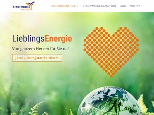 Website Design Lieblingsenergie