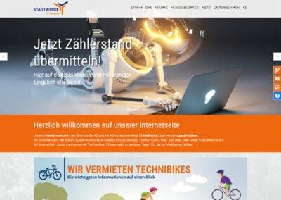 Stadtwerke Staßfurt Website Relaunch