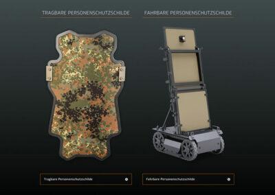 Mehler Engineered Defence GmbH Website Relaunch